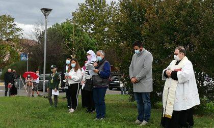 E' nato il bosco del respiro per ricordare le vittime del Covid-19 FOTO