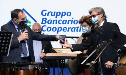 Bcc Treviglio, conferito il premio di socio onorario alla memoria a Lorenzo Bergamini