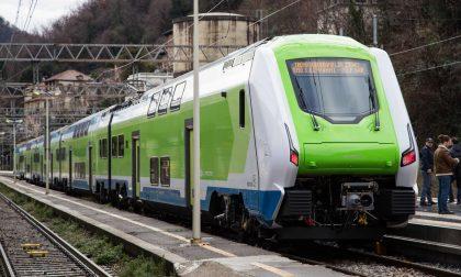 Il treno Caravaggio debutta sulla Porta Garibaldi-Bergamo
