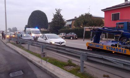 Tamponamento in via De Gasperi, traffico rallentato a Pandino