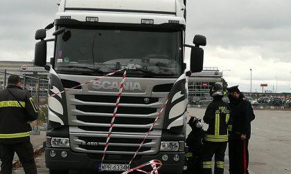 Esplode una bomboletta da campeggio, camionista ustionato a Caravaggio FOTO