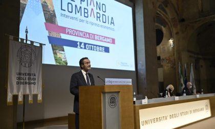 Piano Lombardia: 310 milioni di euro per il rilancio della Bergamasca VIDEO INTERVISTE