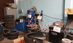 Gommista abusivo in un capannone di Bariano, la multa è salatissima