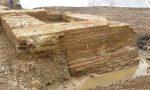 Dagli scavi per il parcheggio riaffiorano le mura della Caravaggio medievale