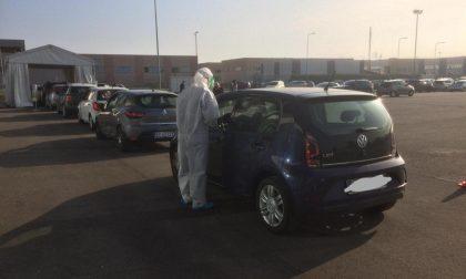 Covid-19, ai drive-in dell'Asst di Treviglio confermato un caso di variante inglese