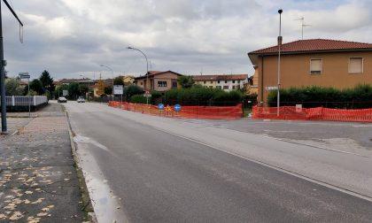Nuovo tratto di ciclabile in via Circonvallazione Nuova