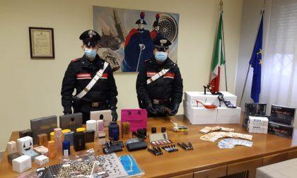 Ucraino denunciato a Spino, in casa aveva 100mila euro di cosmetici rubati alla Intercos Europe VIDEO
