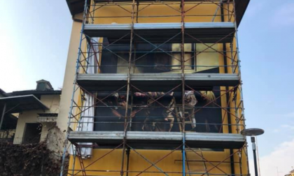 Un dipinto del Caravaggio alto cinque metri per inaugurare il sogno di Tano Nodari FOTO