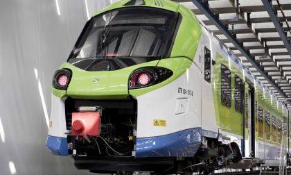 Sulla Lecco-Bergamo entra in servizio il nuovo treno Donizetti FOTO