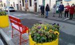 Una panchina rossa antiviolenza anche a Vailate