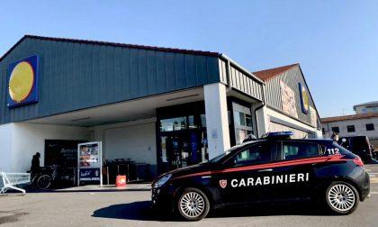 Rapina alla Lidl di Seriate, arrestato da due carabinieri intenti a fare la spesa
