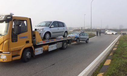 Scontro sulla Rivoltana, coinvolte due auto