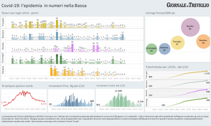 Covid-19, giù i ricoveri ma resta forte  l'incidenza nella Bassa – I DATI LOCAL