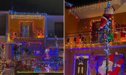 La spettacolare casa di Babbo Natale di Daniele Cerri, a Vailate FOTO GALLERY