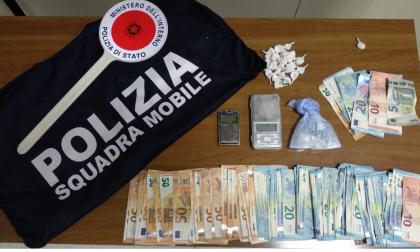 A casa  il market della cocaina: arrestato