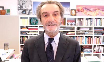 """Appello di Fontana al Governo: """"Riaprire i ristoranti fino alle 22"""""""
