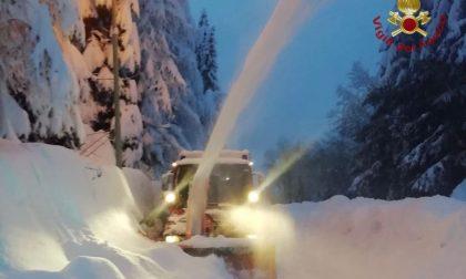 Spettacolare nevicata a Foppolo: ecco le FOTO e il VIDEO
