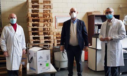 Il vaccino anti Covid-19 è arrivato a Treviglio