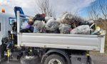 Volontari, amministratori e Rangers ripuliscono il paese