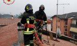 Canna fumaria prende fuoco, paura a Ghisalba