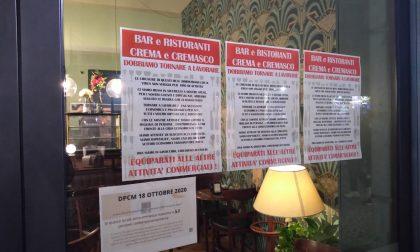 La protesta pacifica dei ristoratori cremaschi