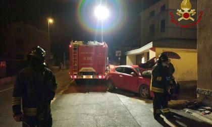 Schianto contro un muro a Spirano, 24enne in ospedale