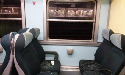 Treni fermi per colpa dei vandali: disagi sulle linee bergamasche