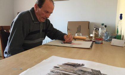 Caravaggio, nelle vetrine comunali espone Marino Castoldi