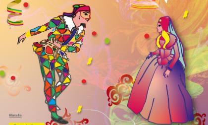 Una cartolina filatelica per festeggiare il Carnevale con Poste Italiane
