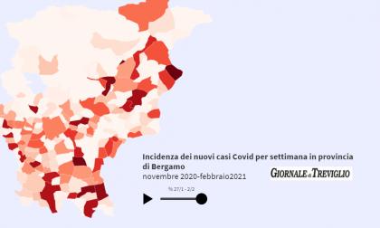 Covid-19, dati stabili. Zero casi in 105 Comuni, guarda l'animazione