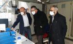 Matteo Piloni visita l'Eurosyn di Capralba