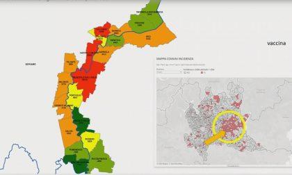 """Sull'Oglio la """"diga"""" anti-Covid a suon di vaccini.  Brescia,  Basso Sebino e Soncino in zona arancione rafforzata"""