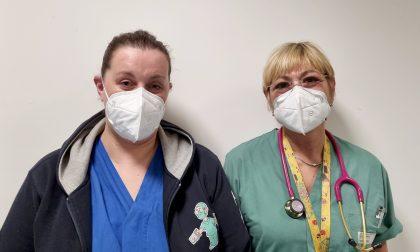 Medico e infermiera dell'Asst a supporto dei colleghi umbri