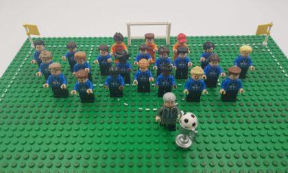 Lego e Atalanta, due passioni che si uniscono: la collezione di Andrea