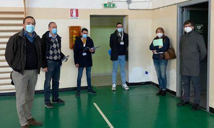 Ispezione dei tecnici dell'Ats,  la palestra di via Bovis papabile per la sede vaccinale