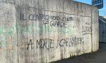 Scritte contro i carabinieri al sottopasso di via Panizzardo