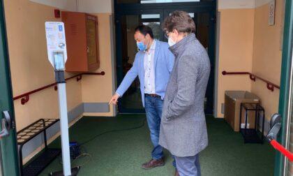 Rotary Club di Pandino dona alla casa di riposo un termoscanner