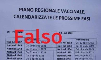 Occhio alla fake: non sono ancora aperte le prenotazioni per il vaccino over60