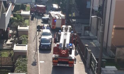 Anziana cade in casa  e si teme il peggio, arrivano i pompieri di Treviglio