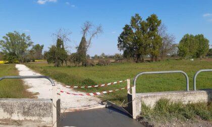 Aperto il passaggio che collega l'argine del Parco del Serio e la ciclabile
