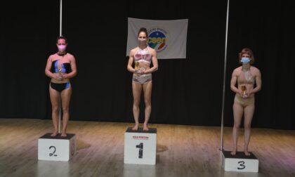 Gessica Campana è campionessa italiana di pole dance