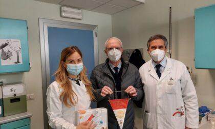 Dal Rotary Crema uno spirometro per i piccoli pazienti della pediatria