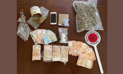 Ancora droga: sequestrati cocaina, marijuana e 26mila euro in contanti