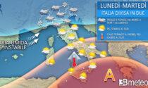 Ci aspetta una settimana di tempo instabile e pioggia al Nord