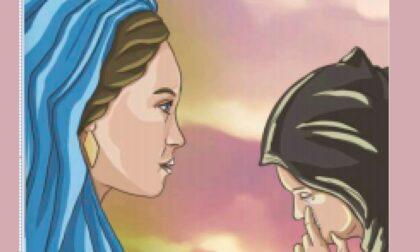 L'apparizione della Madonna di Basella raccontata a fumetti