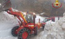 Troppa neve, per riaprire passo San Marco arrivano i Vigili del fuoco