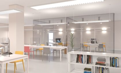 Prende forma la nuova sala studio in piazza Garibaldi