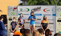 Martina Seghezzi la biker della Polisportiva Comunale Ghisalbese vice campionessa lombarda Allieve