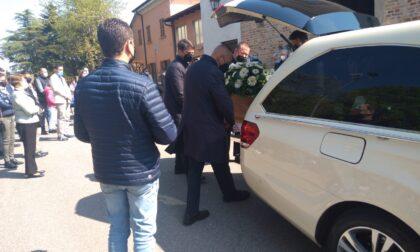 L'addio di Pieranica a Maddalena Tassi