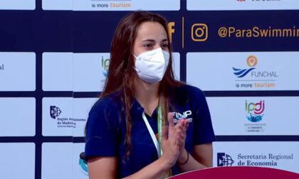 Giulia Terzi stella del nuoto paralimpico con 5 ori e un bronzo agli Europei